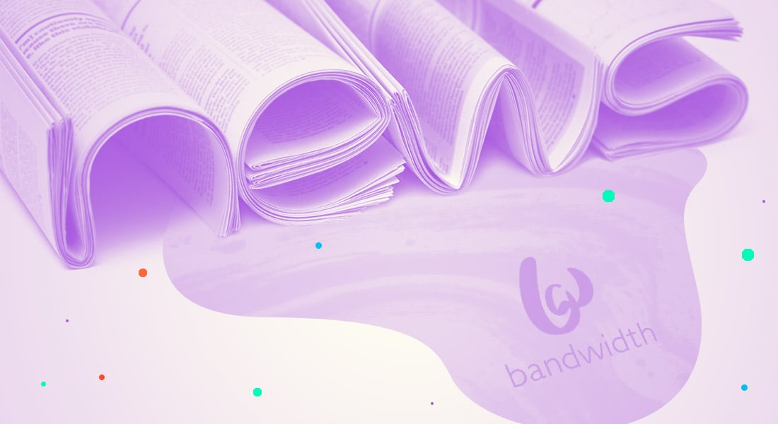 Bandwidth Purple Newspapers