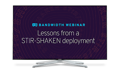 Lessons from a STIR/SHAKEN deployment