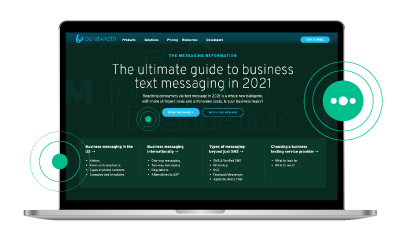 The ultimate guide to business text messaging in 2021